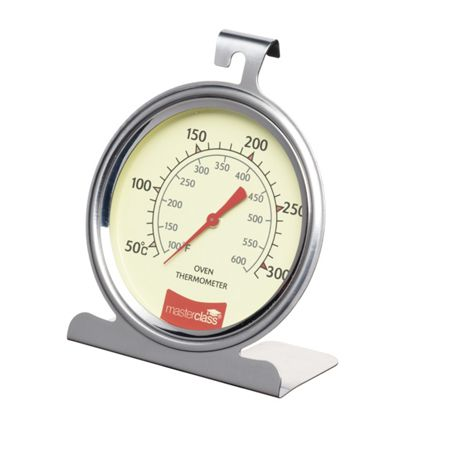 Masterclass Large Stainless Steel Oven Thermometer