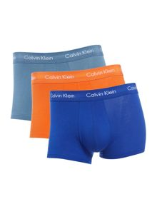 Calvin Klein 3 Pack Contrast Cotton Stretch Brief