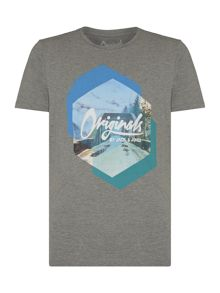 Jack & Jones Cotton Graphic Short-Sleeve T-shirt