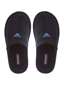 Emporio Armani Eagle Logo Slip On Slipper