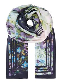 Ted Baker Enchantment long silk scarf