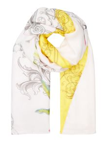 Ted Baker Passion flower split scarf
