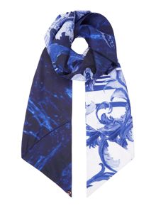 Ted Baker Persian blue skinny scarf