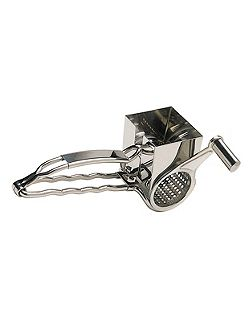 Deluxe Stainless Steel Rotary Cheese Grater