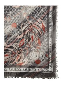 Guess Reversible square scarf