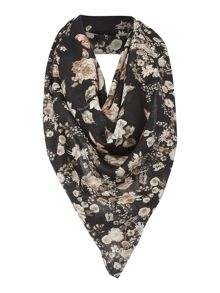 Guess Floral large square scarf