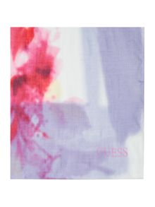 Guess Tie-dye long scarf