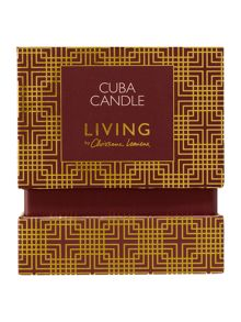 Living by Christiane Lemieux Cuba Candle