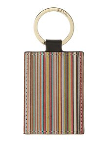 Paul Smith London Multistripe Key Fob Keyring