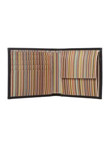 Paul Smith London Internal Multistripe Coin Pocket Wallet