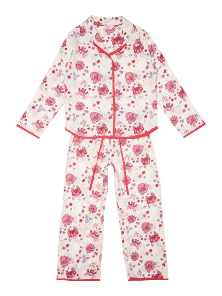 Minijammies Girl`s PJ AO Print Long Sleeve