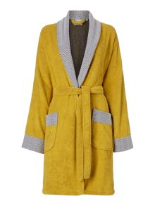 Living by Christiane Lemieux Chevron robe chartreuse m/l