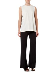 Marella FASTO long length wide leg trouser