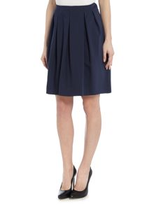 Marella NANON a line skirt with box pleat detail