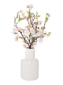 Junipa Cherry Blossom in geometric vase
