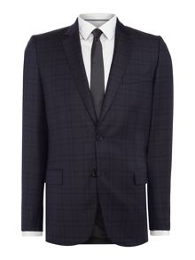 PS By Paul Smith Shadow Checked Suit Jacket