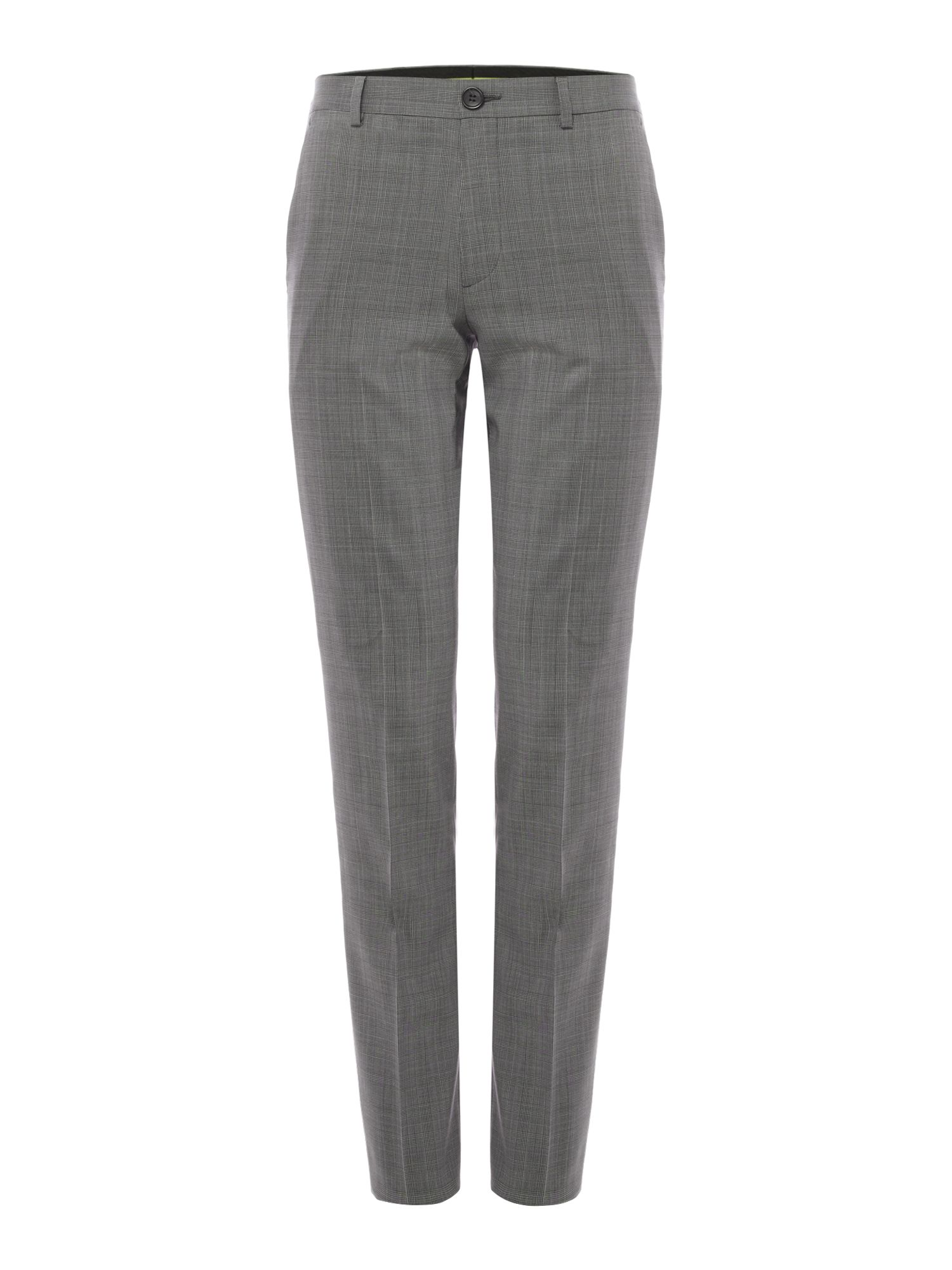 Men's PS By Paul Smith Checked Wool Suit Trousers, Grey
