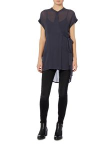 Label Lab Chase Tie Longline Top