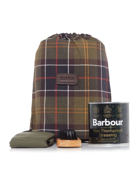 Barbour Classic tartan care kit