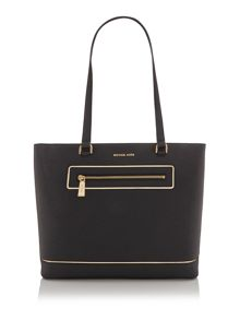 Michael Kors Frame out item black large tote bag