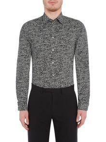 PS By Paul Smith Long Sleeved Dancing People Print Shirt