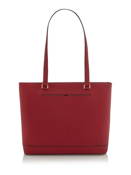 Michael Kors Frame out item red large tote bag