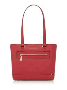 Michael Kors Frame out item red medium tote bag
