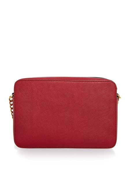 Michael Kors Frame out item red crossbody bag