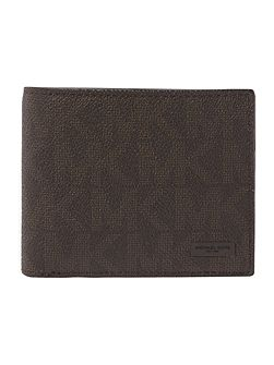 MK Monogram Coin Pocket Wallet