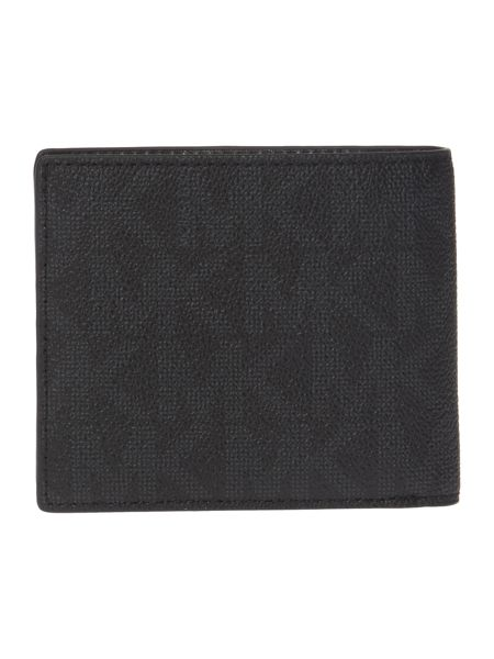 Michael Kors MK Monogram Coin Pocket Wallet