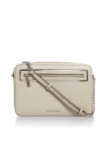 Michael Kors Frame out item grey crossbody bag