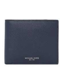Michael Kors Harrison Crossgrain Coin Pocket Wallet