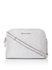 Michael Kors Silver dome crossbody bag
