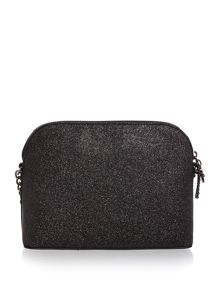 Michael Kors Black dome crossbody bag
