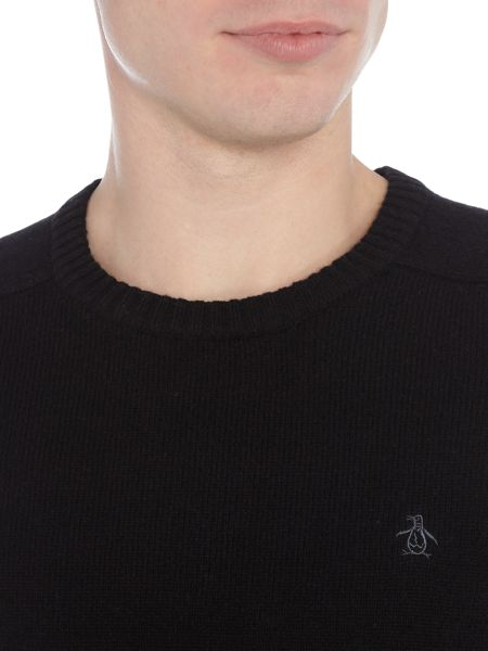 Original Penguin Saddler Raglan Knitted Jumper