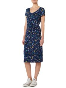Dickins & Jones Side Twist Jersey Dress