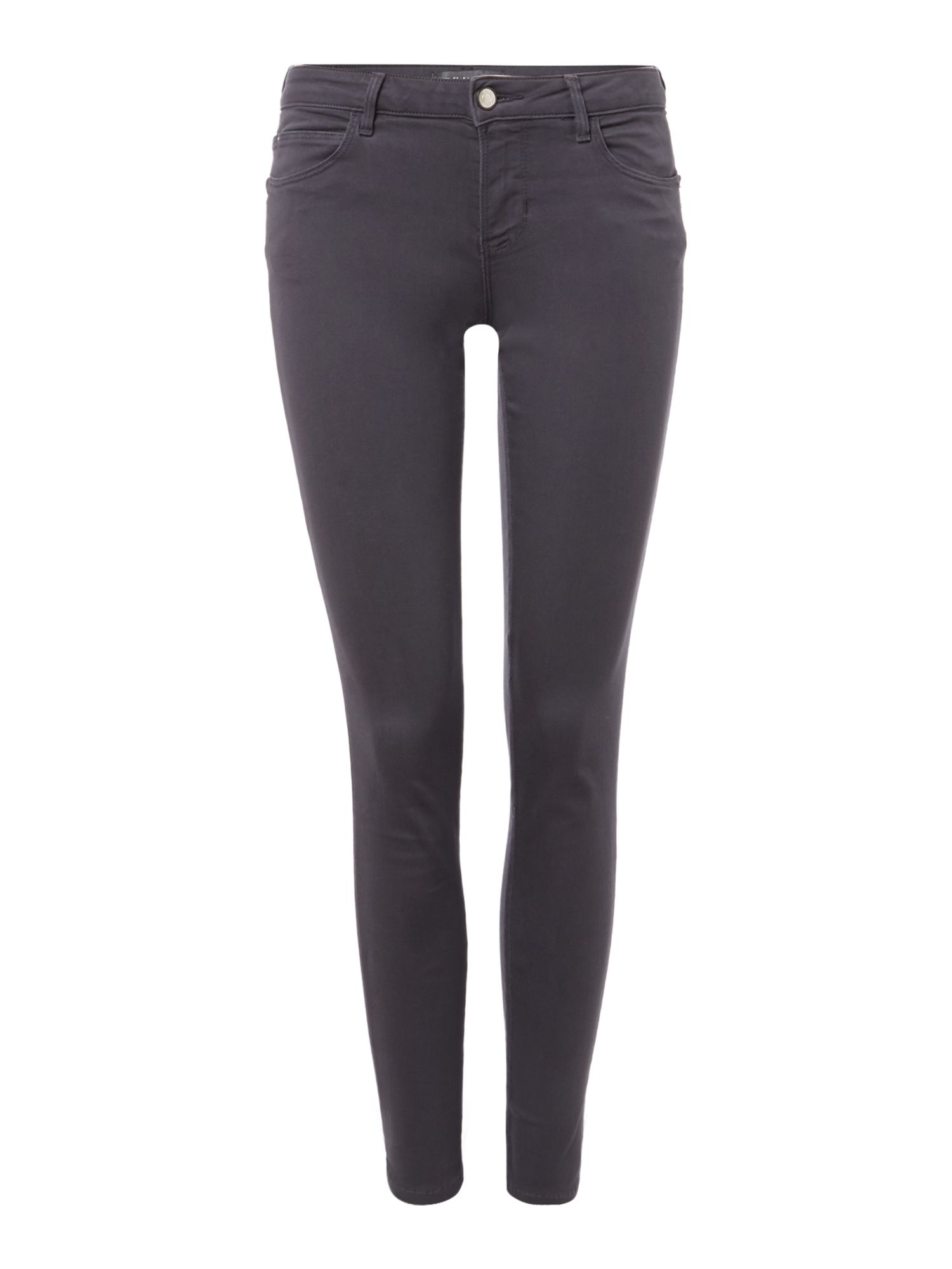 Guess Curve x Jean in Ashy Gris, Grey.