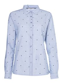 Dickins & Jones Livia Classic Stripe and Spot Shirt