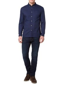 Howick Classic plain regular fit Oxford shirt