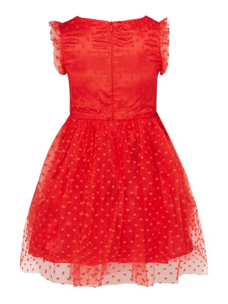 Little Misdress Girls Dress Bow