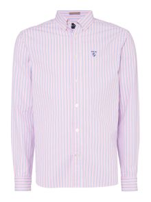 Howick Princeton Stripe Long Sleeve Shirt