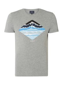 Criminal Wave and Peaks Graphic Tshirt