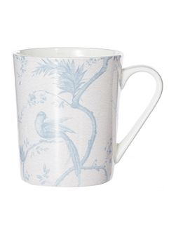 Chinoiserie Blue Mug