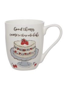 Linea Good Things Bake Mug