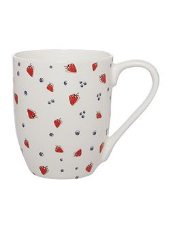 Berries bake mug