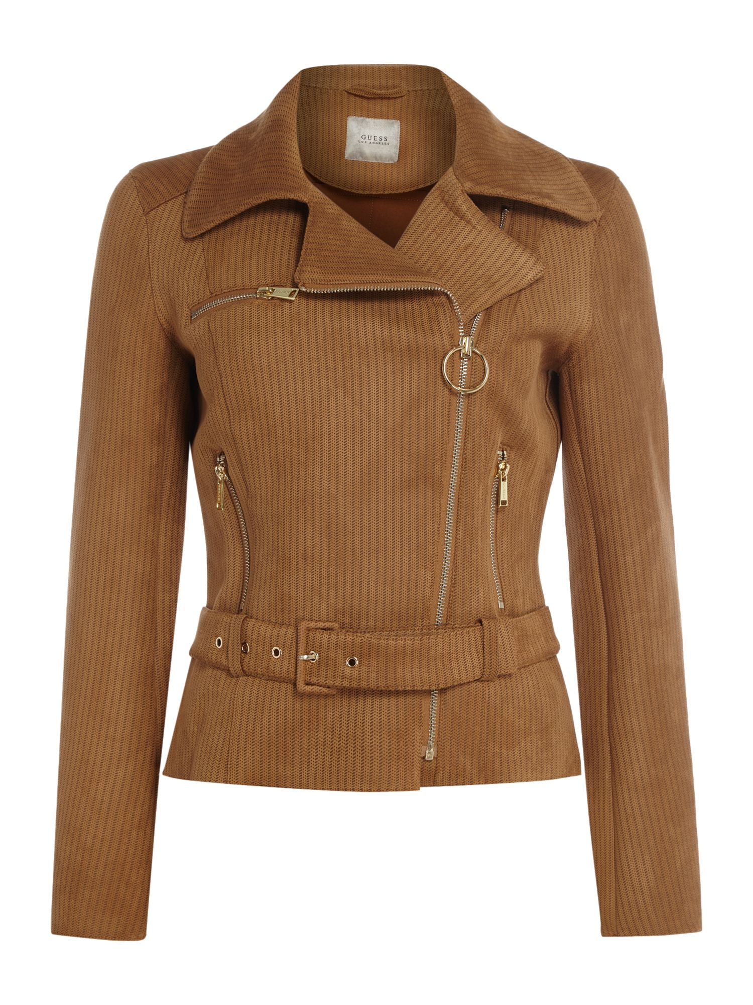 Guess Marlene Jacket in doeskin, Tan