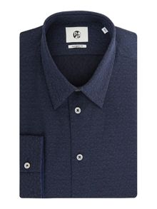 PS By Paul Smith Dice Jacquard Print Shirt