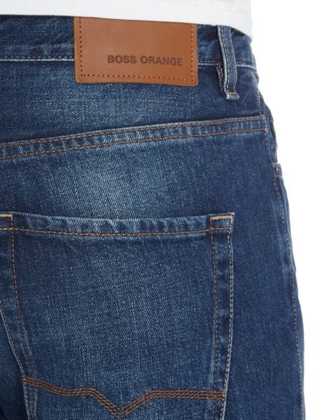 Hugo Boss Orange25 reg fit mid wash jeans