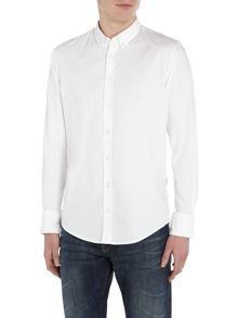 Hugo Boss Edipoe slim fit long sleeve shirt
