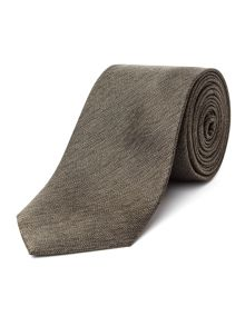 Racing Green Herringbone Tie